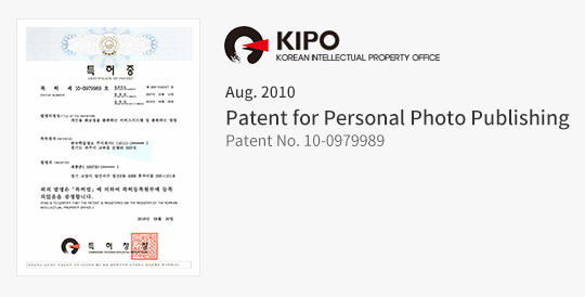 Patent for Personal Photo Publishing